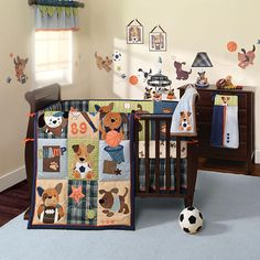 Get Lambs Ivy Bow Wow Crib Bedding Set On Today At Your Local Or Compare Prices And Check Availability For