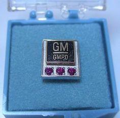 Gm general motors 15 year service award pin tie tac for General motors parts division