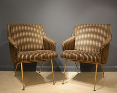 French Lounge Chairs. Offered by The Moderns.