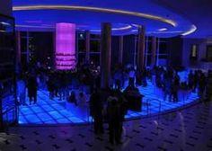 The Blue bar in miami Beach-Fountainblue Hilton