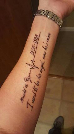 Fore arm tattoo