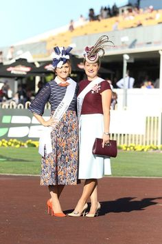 Fashions on the Field at BTC Cup Day 2016 (Fashion on the Australian Racecourse) Races Style, Races Fashion, Derby Day, Race Day, Modest Outfits, Most Beautiful Women, Couture Fashion, Vintage Fashion, Celebs