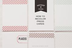 How to recolor your Paislee Press digital cards (and other digi stuff too) Liz Tamanaha