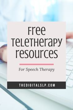 With more schools going to a temporary distance learning model, I decided to round up some FREE speech therapy activities for those finding themselves providing teletherapy. I will keep adding to the list as I find more.