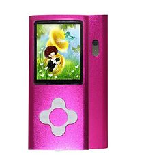 awesome Rshop New 8GB Pink Slim MP4/MP3 Player Music 1.7'' Lcd Screen Mp4 Music/Audio/Media Player with Earphone and Usb Cable /Support Camera Video Movie Ebook Games Photo View  The MP4 can hold about 3000 songs. Support MP3 format, Support AVI format. The built-in camera makes this one of the smallest camcorders in the world…