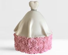 Bridal Shower Cake Cake Shop, Shower Cakes, Wedding Cakes, Bridal Shower, Wedding Gown Cakes, Shower Party, Patisserie, Cake Wedding, Bridal Showers