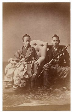 The Imperial Prince of Japan, Tokugawa Akitake 徳川 昭武 (1853-1910), 14 years old, appointed special envoy for France and head of the Japanese delegation at the 1867 Paris Universal Exhibition - Marseille, France - 1867