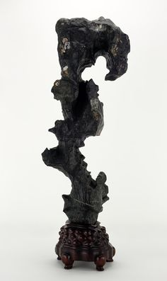 In China, oddly eroded rocks are prized for providing the same revitalization as a trip to the mountains. Freer|Sackler