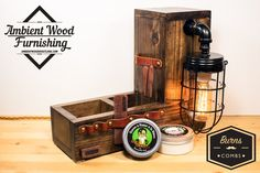 NEW SPECIAL EDITION Wall Wood Bathroom Utility by AmbientWood