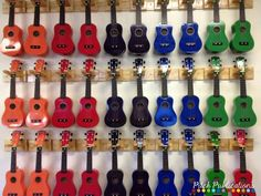 This is an amazing compilation of ukulele storage ideas for the general music classroom! From storing on the wall, to storing on the floor, you are sure to find a solution for your music room! Music Room Organization, General Music Classroom, Elementary Music Lessons, Music Lesson Plans, Teaching Music, Music Education, Musical, Storage Ideas, Floor