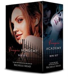 Vampire Academy Books by Richelle Mead ... Love these (cant wait for the movies)