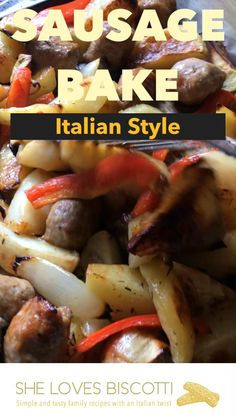 This recipe for Italian Sausage, Potatoes, Peppers & Onions starts off in a skillet. Complete the taste transformation from ordinary to extraordinary in the oven. #italiansausagedinner Sausage Potatoes And Peppers, Italian Sausage Recipes, Sausages, Pork Recipes, Sheet Pan, Casserole Recipes, Healthy Eats, Eating Clean