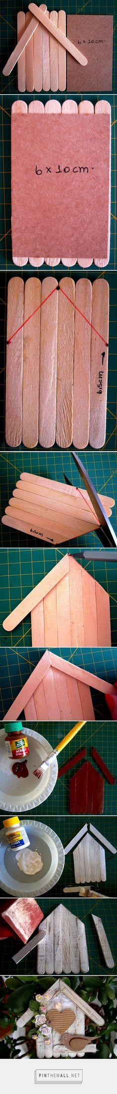 scrap for help: Pap - Casinha de Passarinho / Step by Step - Bird house…