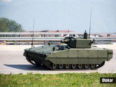 TULPAR BAZEN BİR ZIRHLI 120 mm HAVAN ARACI BAZENSE ZIRHLI BİR HAVA SAVUNMA ARACI