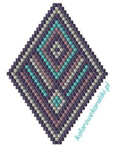 Love this beading pattern. #beadwork #beading #cbloggers
