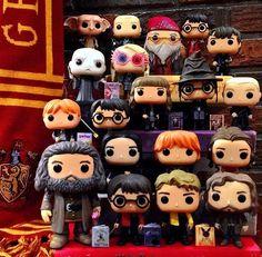 Harry Potter Glasses, Harry Potter Theme, Harry Potter Hogwarts, Harry Potter World, Harry Potter Pop Figures, Pusheen Cute, Pop Figurine, Harry Potter Merchandise, Harry Potter Collection