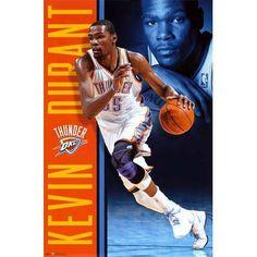 (22x34) Kevin Durant - Oklahoma City Thunder Basketball Poster $1.21 #topseller