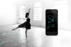 E-traces by lesia trubat are ballet shoes that digitally record the movements of dancers