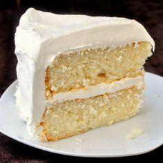 White Velvet Cake | Favorite Recipes