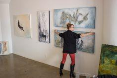 Clara Berta has a new art studio.