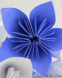 The Pin Junkie: Paper Flower Tutorial DIY