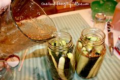 Homemade Claussen Pickles: Claussen are the only good pickles.