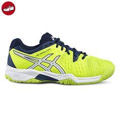 Gel-Resolution 7, Chaussures de Tennis Femme, Noir (Blacksilverhot Pink 9093), 43.5 EUAsics