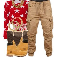 dope outfit with timberland boots