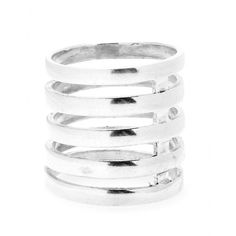 Floating Stacker Sterling Silver Ring + Campbell - mytheresa
