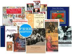 History of Classical Music Jumbo Pack - $179.95 - Beautiful Feet Books