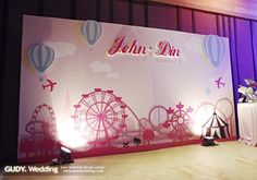 GUDY Wedding 婚禮設計 - Wedding Deco♥新莊新農園*遊樂園主題婚禮佈置