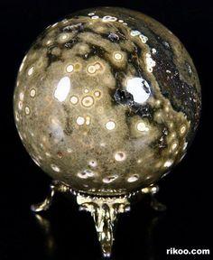 Ocean Jasper Crystal Ball SPHERES , BALLS , MARBLES : Porcelain , Art , Jade , Glass,  and Antiques : More At FOSTERGINGER @ Pinterest