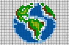 Earth Pixel Art – BRIK