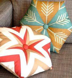 DIY Accent Pillows.