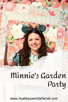Disney has the cutest events & Minnie's Garden Party at Epcot was no exception! disney world, disney workd, disney world trips, we do disney, disney shows, to disney, disney vacation, world disney, disney world vacation, disney vacation planning, walt disney world trip, disney world orlando, walt disney world resorts, disney world planning, disney orlando, walt disney world tips, minnie mouse party, mouse minnie, mini mouse, epcot around the world, epcot disney world, epcot must do Disney Vacation Planning, Disney World Planning, Disney World Vacation, Disney Vacations, Disney World Tips And Tricks, Disney Tips, Disney Disney, Disney World Restaurants, Disney World Resorts