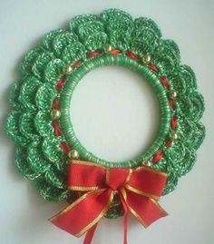 Enfeites de Natal de crochê passo a passo   Artesanato passo a passo!