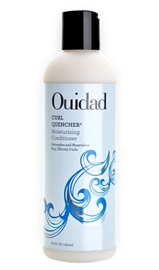 Ouidad Curl Quencher Moisturizing Conditioner for Dry, Thirsty Curly Hair #OuidadCurls
