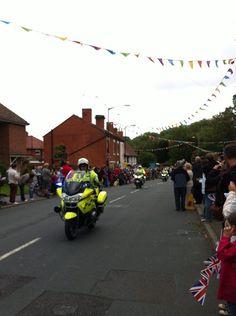 Police outrider (via 'len Crook)