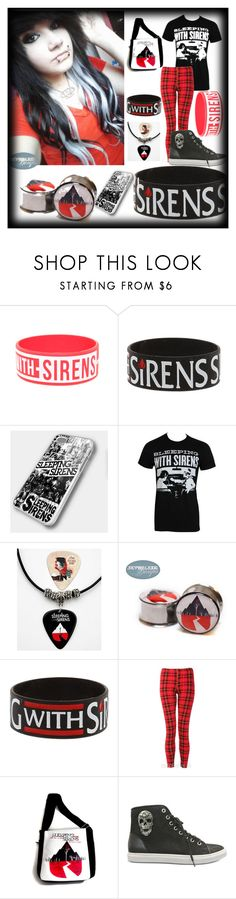 """Do It Now Remember It Later"" by nekoprincess ❤ liked on Polyvore featuring Philipp Plein, sleeping with sirens, emo and scene"