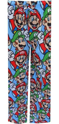WebUndies.com Nintendo Super Mario and Luigi Lounge Pants