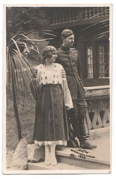 Rare Collection Royalty Photograph . Romania Royalty 1922 in Collectibles, Postcards, Royalty | eBay