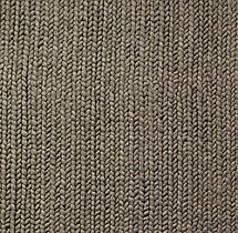 Superb Chunky Braided Wool Rug Swatch   Grey