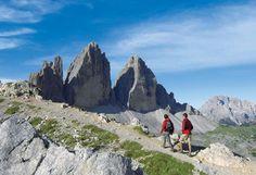 Escursioni nelle Dolomiti di Sesto, patrimonio naturale dell'UNESCO, intorno alle Tre Cime ? adatto per coppie, amici e famiglie.