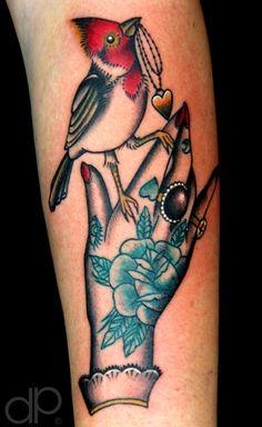 Artwork done by Cassandra Francis Tattoo by david palacios