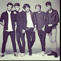 All of the boys. Liam Payne, Harry styles, Niall Horan, zyan malik, Louis Tomlinson.  One direction