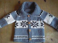 Childrens' Sweater Pure Wool Cowichan Style Custom by saintpierre, $60.00