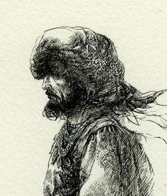 Portrait of a Man, Yaroslav Gerzhedovich