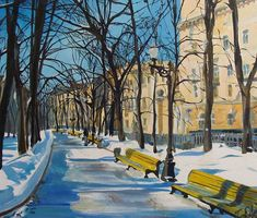 How to Improve Your Painting Skills with Acrylic Painting Tips? Landscape Architecture Drawing, Landscape Sketch, Modern Landscape Design, Green Landscape, Contemporary Landscape, Fantasy Landscape, Winter Landscape, Abstract Landscape, Landscape Paintings