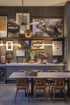 41 Ideas For Natural Wood Interior Design Grey Walls Dream Home Design, House Design, Wall Design, Kitchen Decor, Kitchen Design, Sweet Home, Grey Interior Design, Wood Interiors, Home And Deco