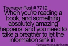 Or when something NOT-SO-AMAZING HAPPENS